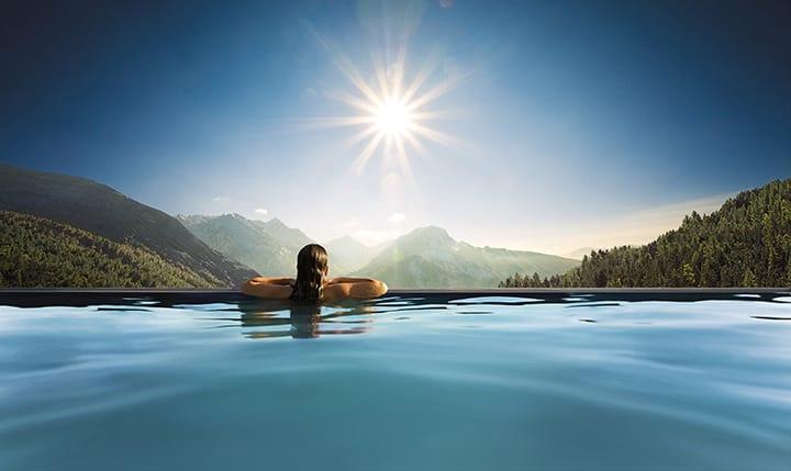 Hotelbild Blick auf die Allgäuer Alpen