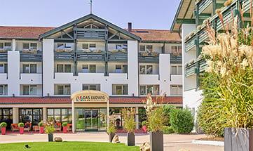 Aussenansicht vom Hotel Das Ludwig