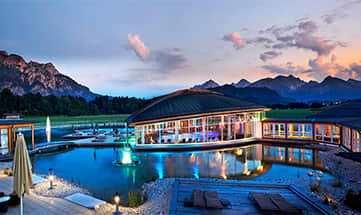 Aussenansicht vom König Ludwig Spa Resort