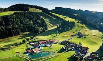 Aussenansicht vom Haubers Alpenresort
