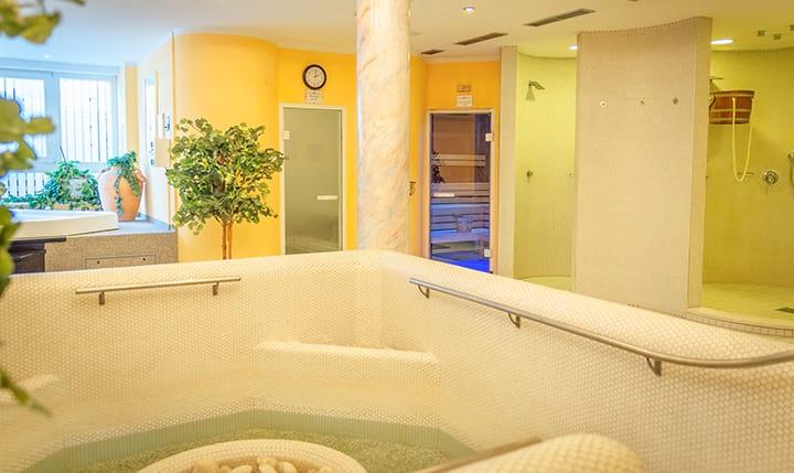 Hotelbild Saunabereich des Hotels