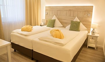 Zimmer Lebenslust - 45 m²