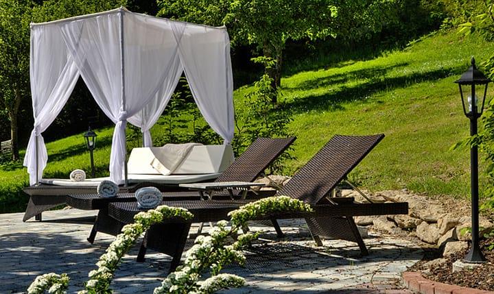 Hotelbild Himmelbetten im Garten