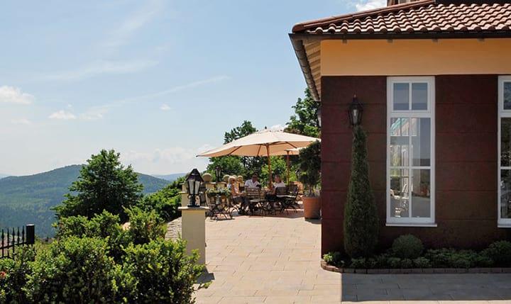 Hotelbild Restaurant mit Ausblick