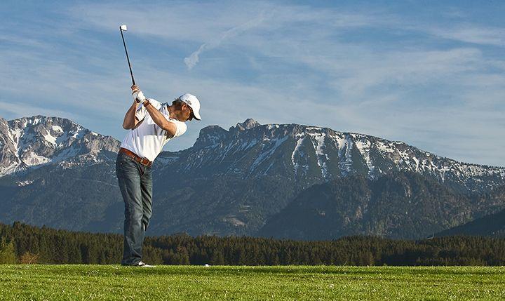 Freizeittipp  Golf mit Panoramablick