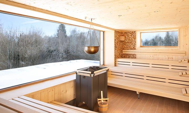 Hotelbild Sauna mit Ausblick