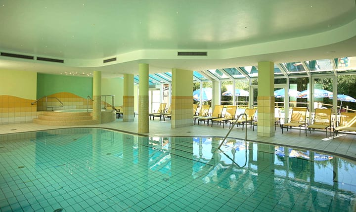 Hotelbild Hallenbad mit Whirlpool