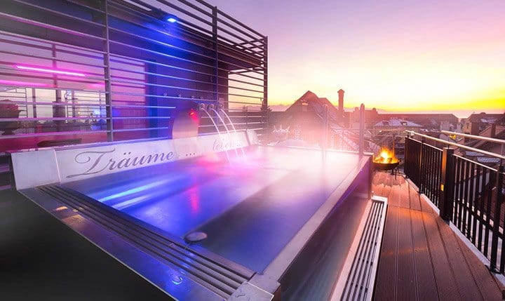 Hotelbild Alpenlounge Sauna auf dem Dach