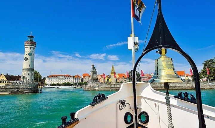 Hotelbild Blick vom Bodensee