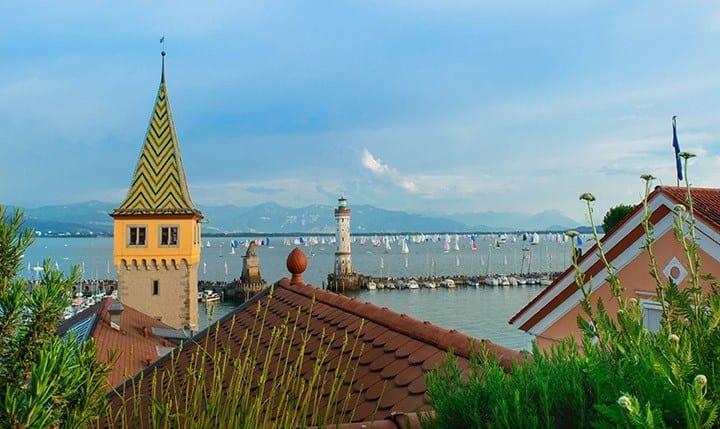 Hotelbild Blick von der Dachterasse