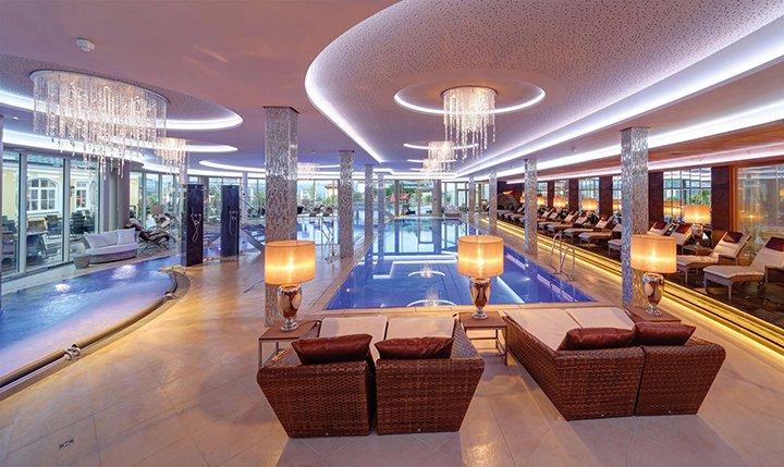 Hotelbild 6.500 m² Wellnessbereich