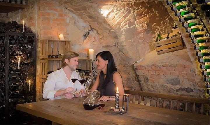 Hotelbild Gemütlicher Weinkeller