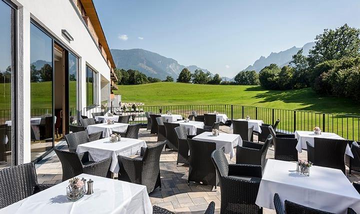 Hotelbild Terrasse mit Ausblick