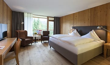 Zimmer Doppelzimmer im Gartenflügel