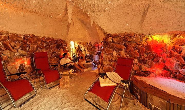 Hotelbild Entspannende Salzgrotte