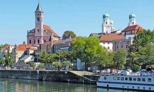 Aussicht auf Passau