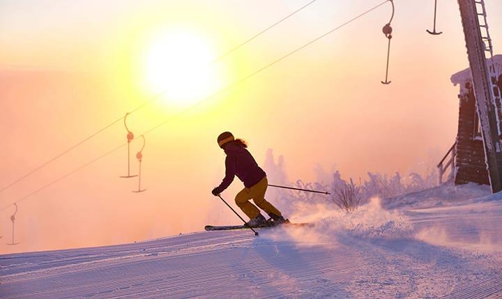 Freizeittipp  Skigebiet Hohenbogen