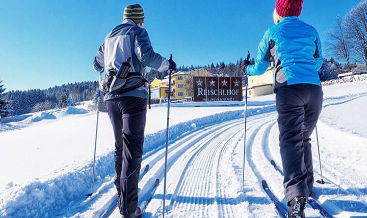 Freizeittipp  Wintersport im Skigebiet Hochficht