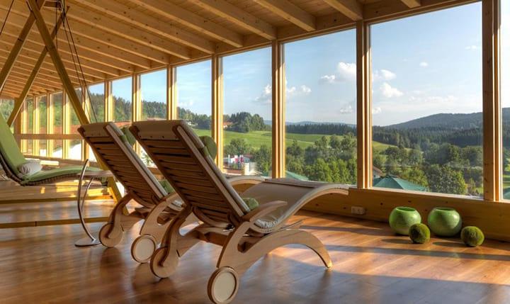 Hotelbild Ausblick auf den Bayerwald