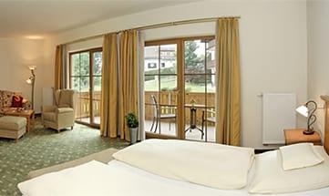 Zimmer Garten-Suite