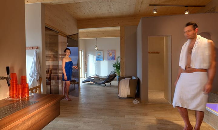 Hotelbild Saunalandschaft