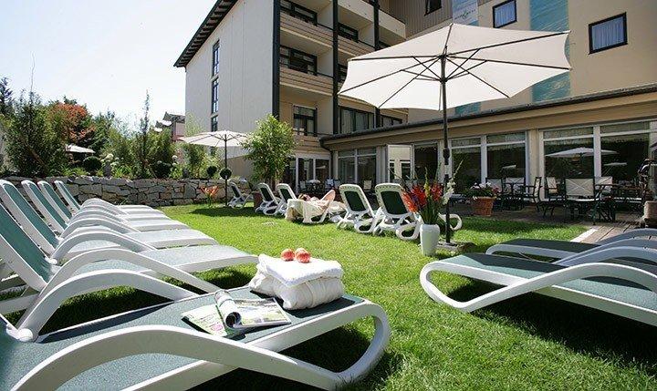 Hotelbild Terasse des Hotels