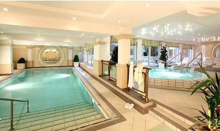 Hotelbild Wellnessbereich des Hotels